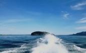 Cruising in the Strait of Juan de Fuca